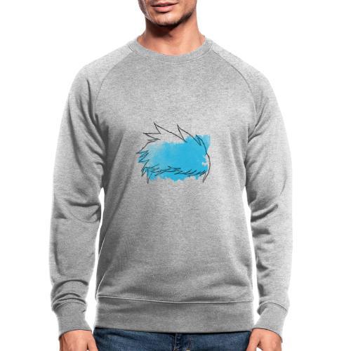 Blue Splat Original - Men's Organic Sweatshirt
