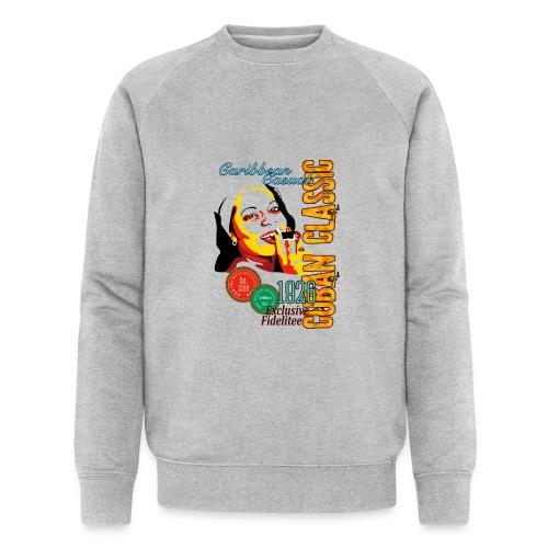 Caribbean Cigar Lady - Männer Bio-Sweatshirt von Stanley & Stella