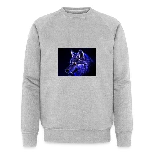 jeff wolf - Økologisk sweatshirt for menn fra Stanley & Stella