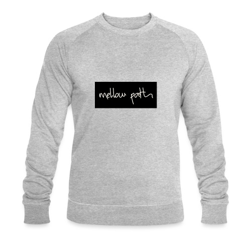 MELLOW PATH LOGO - Men's Organic Sweatshirt by Stanley & Stella