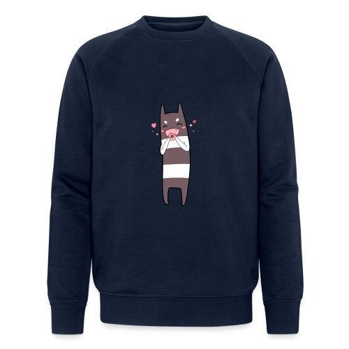 Donut Monster - Men's Organic Sweatshirt