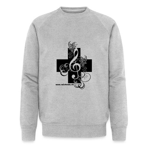 Swiss Beatz Logo non L - Männer Bio-Sweatshirt