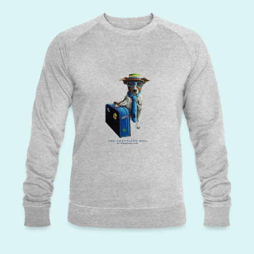 The Traveling Dog - Men's Organic Sweatshirt by Stanley & Stella