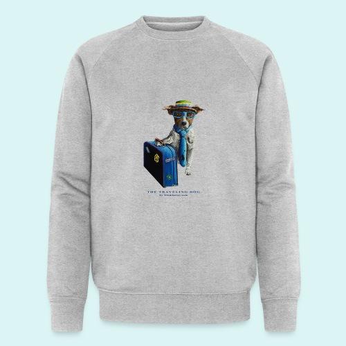 The Traveling Dog - Men's Organic Sweatshirt