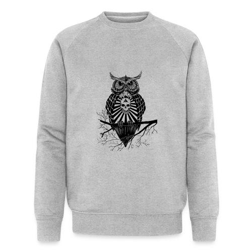 Hibou Psychédélique - Sweat-shirt bio