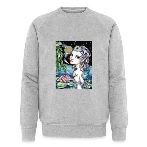 Pisces girl Fische Mädchen - Men's Organic Sweatshirt by Stanley & Stella