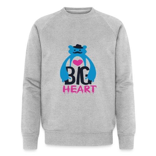 Big Heart Monster Hugs - Men's Organic Sweatshirt by Stanley & Stella