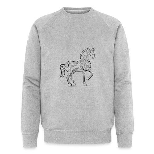 Equus Pferd - Männer Bio-Sweatshirt von Stanley & Stella
