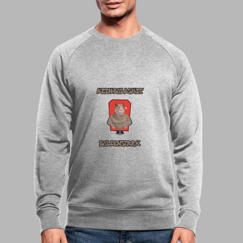 Bullenstark statt Bullshit - Männer Bio-Sweatshirt
