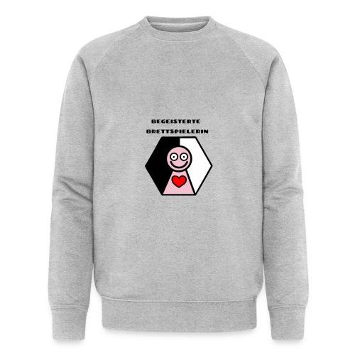 Die begeisterte Brettspielerin - Männer Bio-Sweatshirt von Stanley & Stella