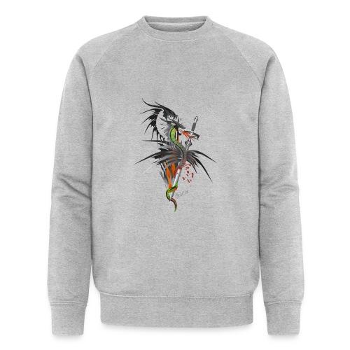 Dragon Sword - Drachenkampf - Männer Bio-Sweatshirt