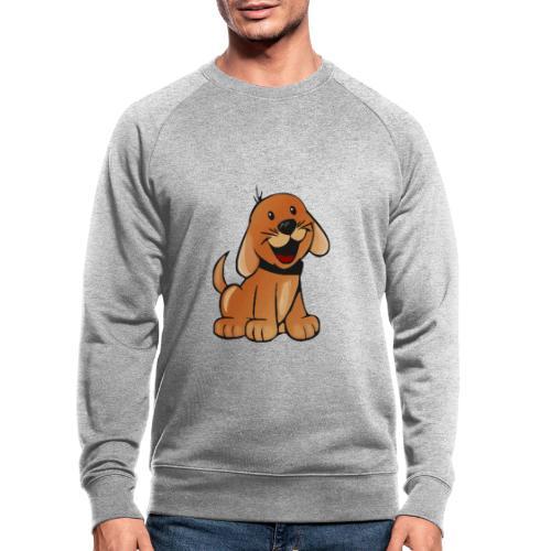 cartoon dog - Felpa ecologica da uomo