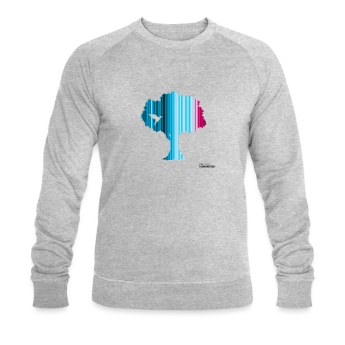 Warming stripes: Wir brauchen die Natur! - Männer Bio-Sweatshirt von Stanley & Stella