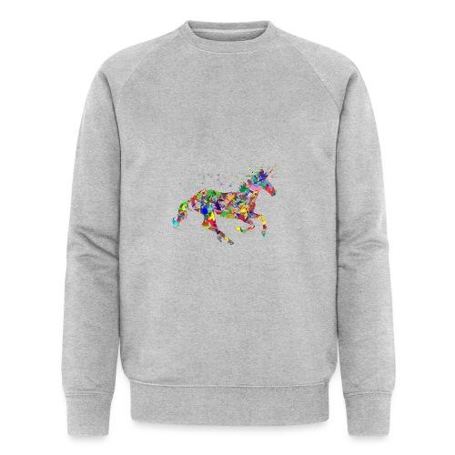 Einhorn - Männer Bio-Sweatshirt von Stanley & Stella