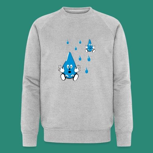 Tropfen - Männer Bio-Sweatshirt von Stanley & Stella