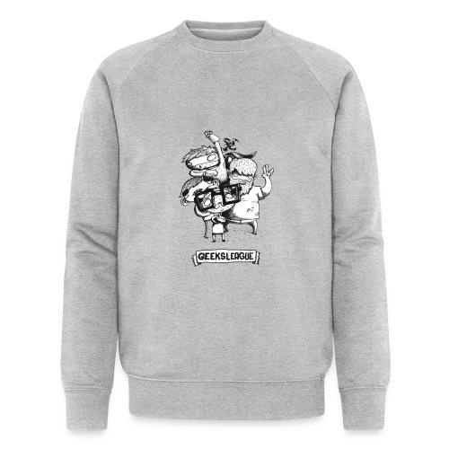 Illu Geeksleague - Sweat-shirt bio Stanley & Stella Homme