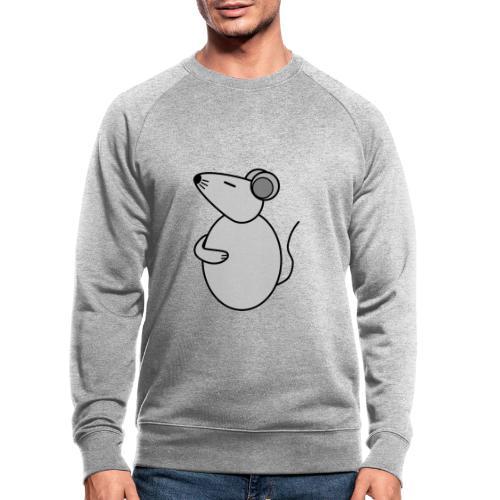 Rat - just Cool - c - Männer Bio-Sweatshirt