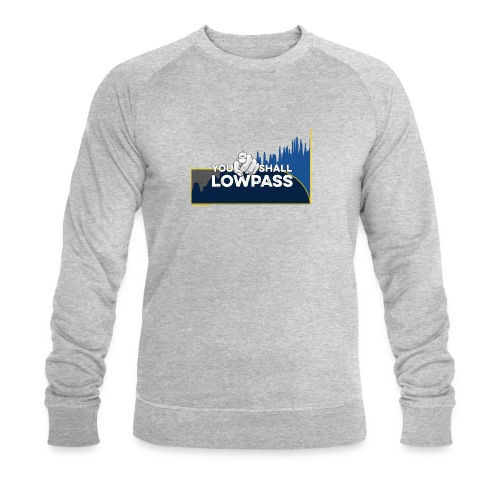You shall Low Pass (Blue) - Sweat-shirt bio Stanley & Stella Homme