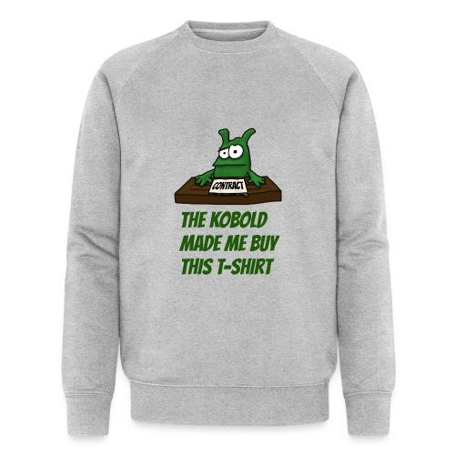 Kobold made me buy - Men's Organic Sweatshirt by Stanley & Stella