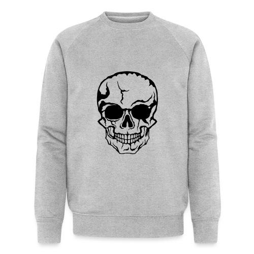 tete de mort halloween horreur dessin 21 - Sweat-shirt bio Stanley & Stella Homme