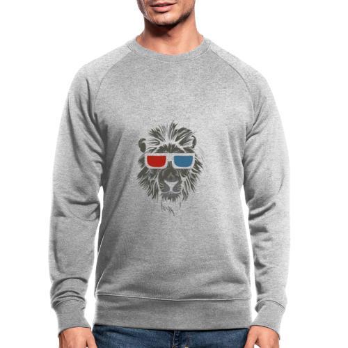 Lion 3D - Ekologisk sweatshirt herr