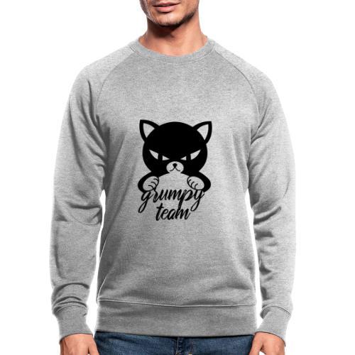 grumpy team - Männer Bio-Sweatshirt