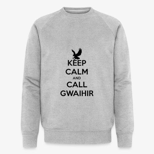 Keep Calm And Call Gwaihir - Men's Organic Sweatshirt by Stanley & Stella