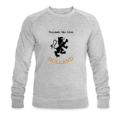 HOLLAND Oranje Unleash the LION - Mannen bio sweatshirt van Stanley & Stella