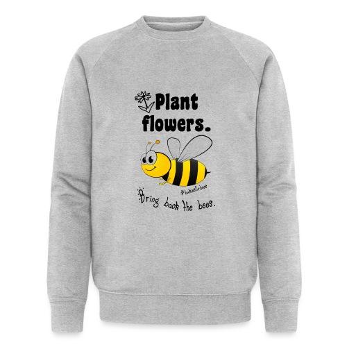 Bees8-1 Bringt die Bienen zurück! | Bookrebels - Men's Organic Sweatshirt by Stanley & Stella