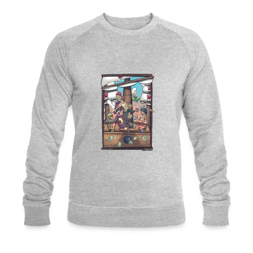 les pirates - Sweat-shirt bio Stanley & Stella Homme