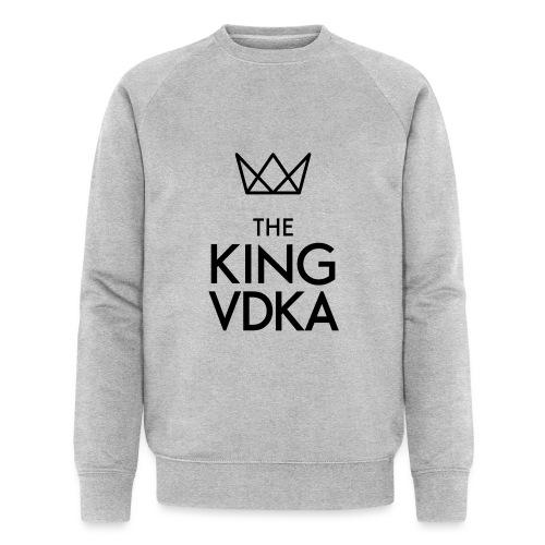 The King VDKA Logo schwarz RGB - Männer Bio-Sweatshirt
