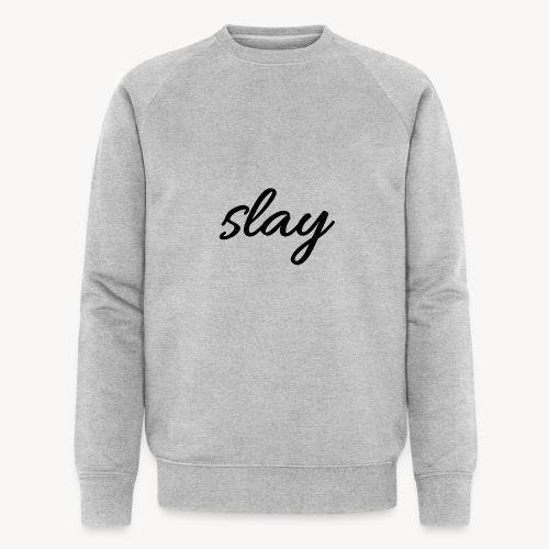 SLAY - Miesten luomucollegepaita