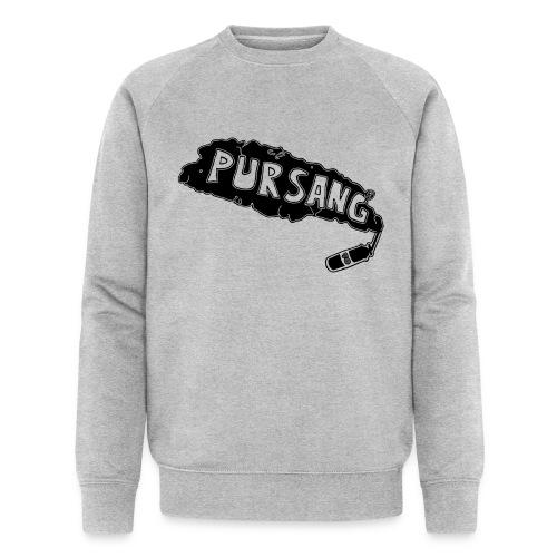 PUR SANG (Black) - Mannen bio sweatshirt