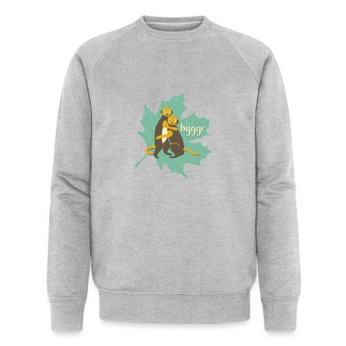 Erdmännchen Herbstfreunde Umarmung - Let's hygge - Männer Bio-Sweatshirt von Stanley & Stella