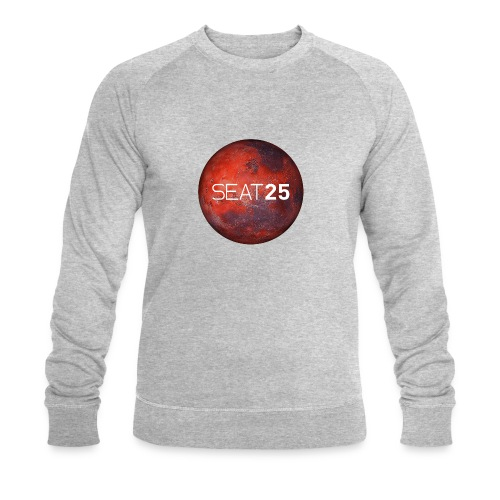 Mars and Logo - Men's Organic Sweatshirt by Stanley & Stella