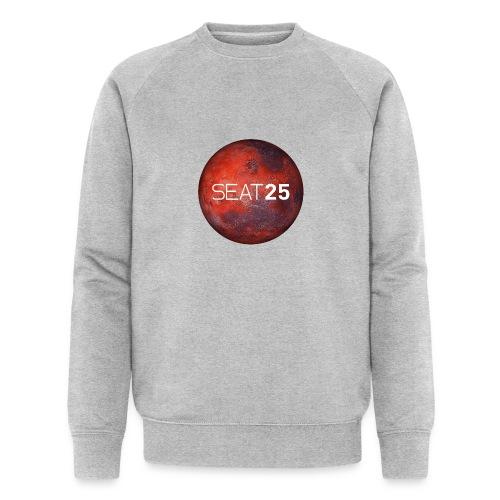 Mars and Logo - Men's Organic Sweatshirt