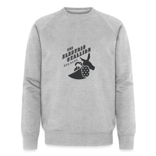stallion badges - Men's Organic Sweatshirt by Stanley & Stella