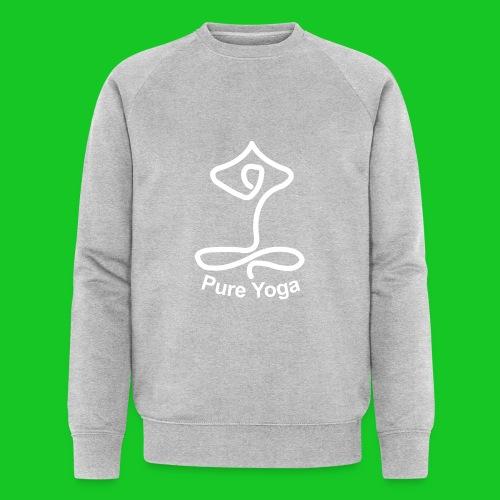 Pure Yoga - Mannen bio sweatshirt van Stanley & Stella
