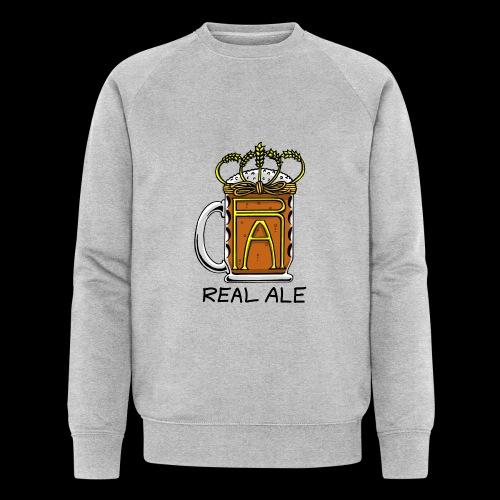 Real Ale - Men's Organic Sweatshirt by Stanley & Stella