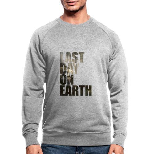 Último día en la tierra - Sudadera ecológica hombre