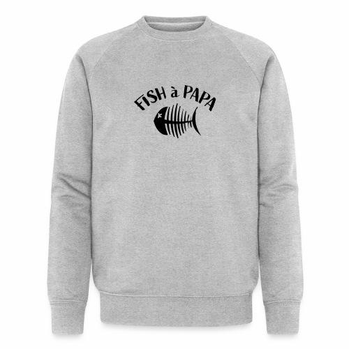 Le Fish à papa - Mannen bio sweatshirt van Stanley & Stella