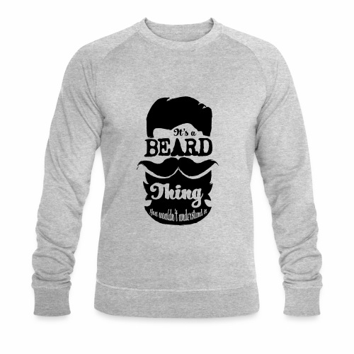 Beard Thing - Mannen bio sweatshirt van Stanley & Stella