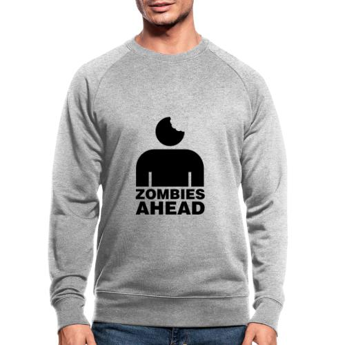Zombies Ahead - Ekologisk sweatshirt herr