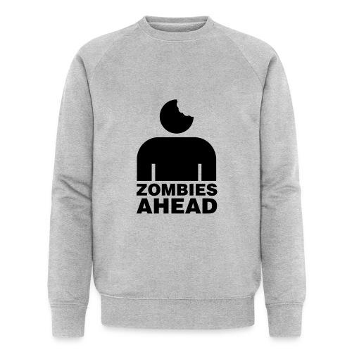 Zombies Ahead - Ekologisk sweatshirt herr från Stanley & Stella