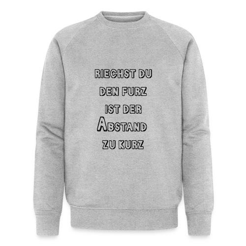 Riechst Du den Furz - Männer Bio-Sweatshirt von Stanley & Stella
