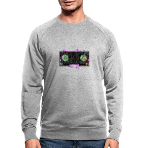 T-shirts design electronic music - Men's Organic Sweatshirt