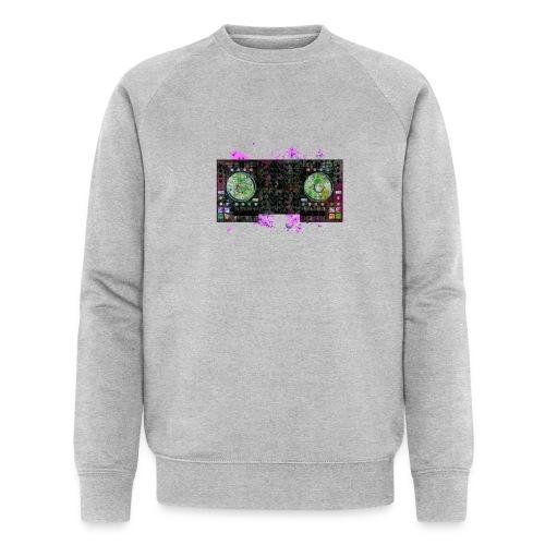 T-shirts design electronic music - Men's Organic Sweatshirt by Stanley & Stella