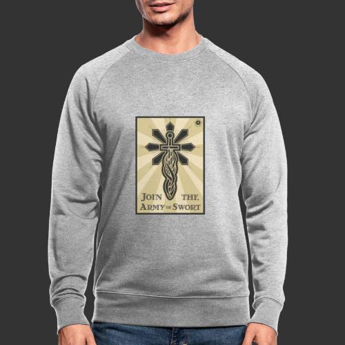 Join the Army of Swort - Men's Organic Sweatshirt
