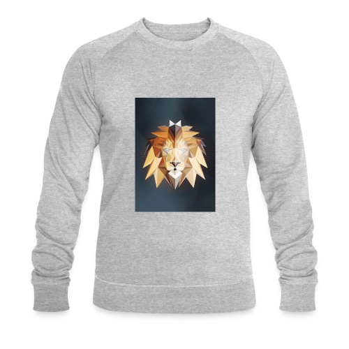 Polygon Lion - Männer Bio-Sweatshirt