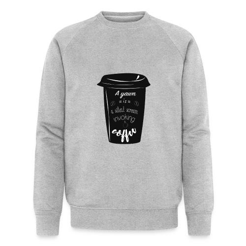 Coffee - Felpa ecologica da uomo